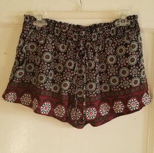 Pants - Soft Printed Shorts